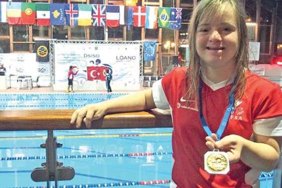 Déjà 3 médailles pour Delphine André