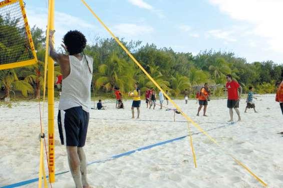 La plage comme  terrain de jeu