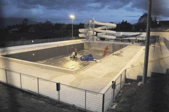 Le chantier de la piscine provinciale passe à la vitesse supérieure