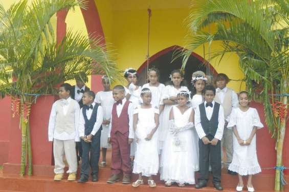 Réjouissances  de première communion