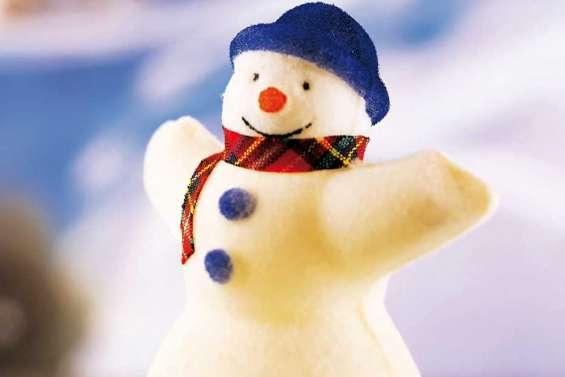 « Notre bonhomme de neige sera magnifique ! »