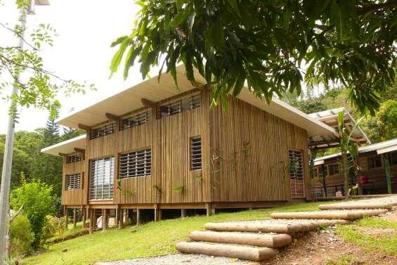 Une école en pinus à Ouayaguette