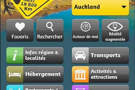 Quatre guides en une application