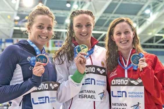 Du bronze et un record national pour Lara Grangeon