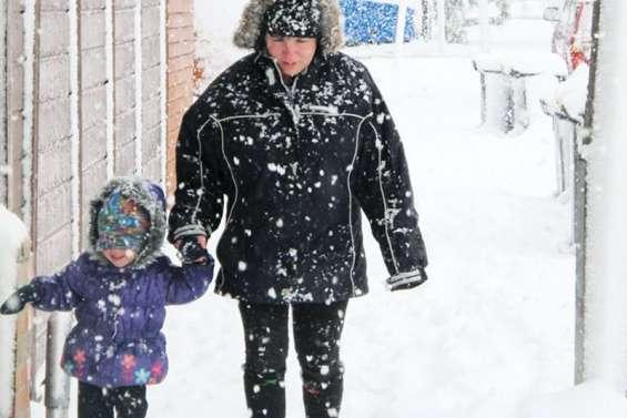 Tempête de neige à Christchurch