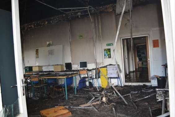 Incendie du lycée Père Guéneau, à Bourail : deux suspects arrêtés