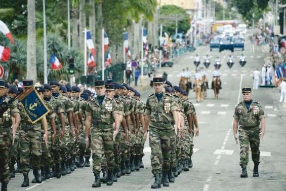 La Nouvelle-Calédonie défile pour le 14 juillet