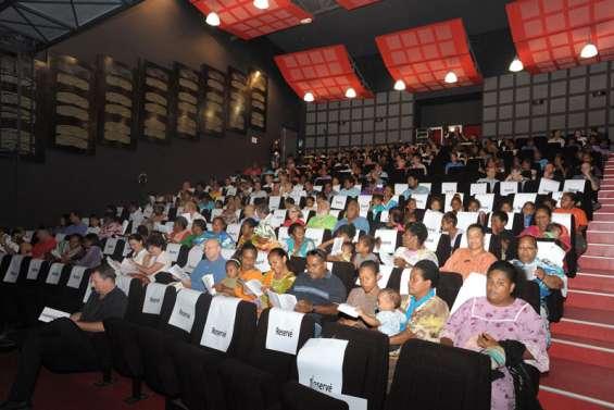 Un Air de partage flotte sur l'auditorium
