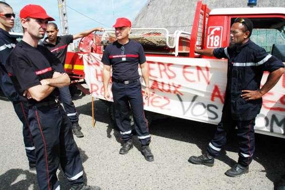 La colère des pompiers après une agression
