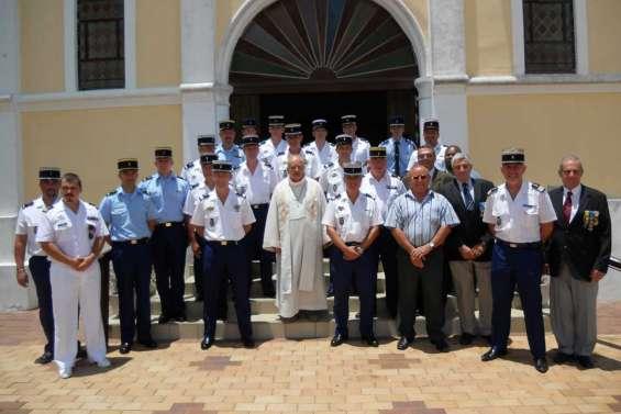 Les gendarmes fêtent leur patronne