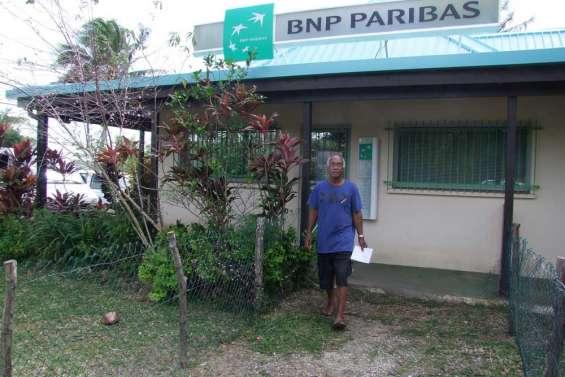 La BNP ferme son agence