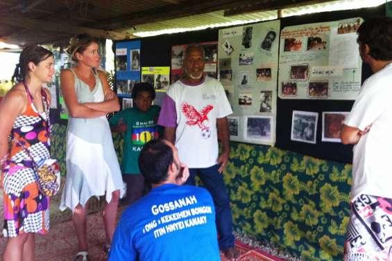 Gossannah s'expose chez Macky Wéa