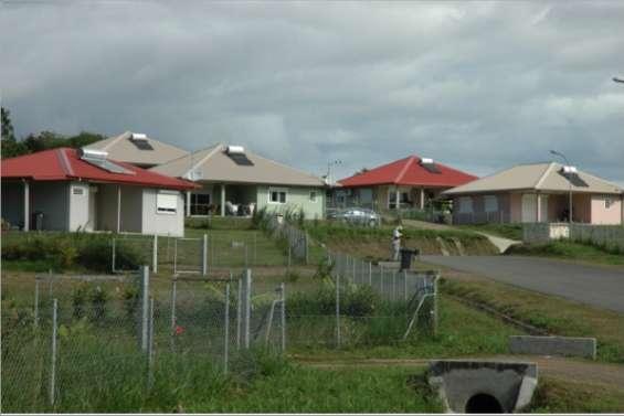 115 villas sur terres coutumières