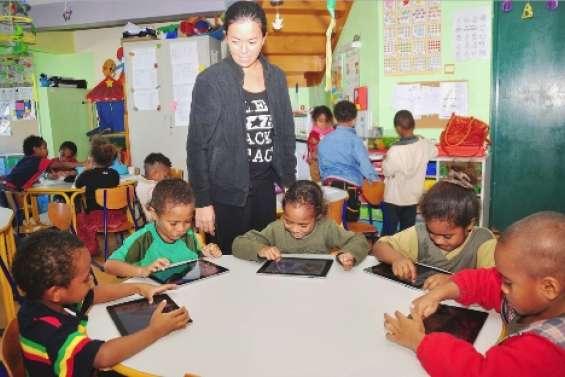 L'iPad à la maternelle