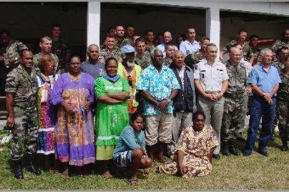 En mission  à Luengoni