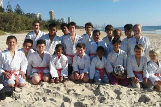 Les judokas à Gold Coast