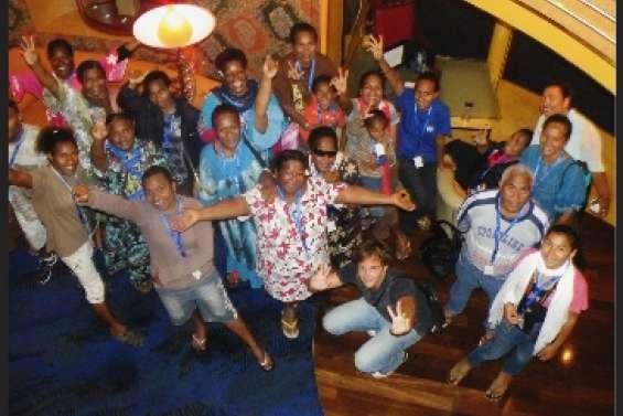 Des Kunié invités à bord