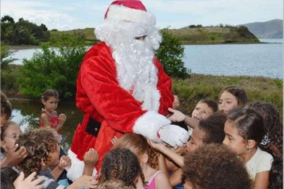 Le père Noël débarque