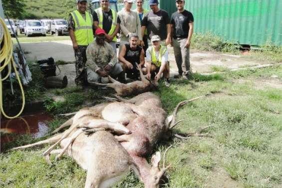 Un gros coup de chasse