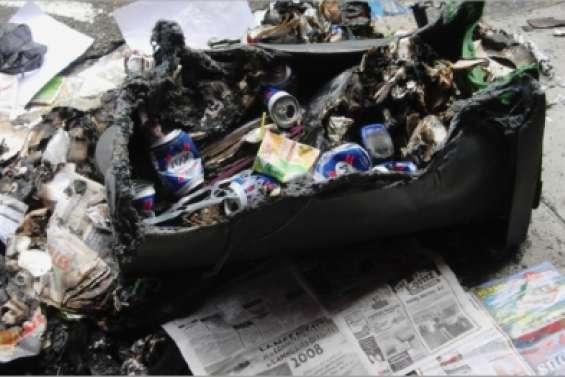 Le blues des poubelles