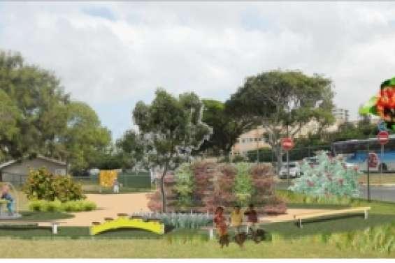 Le parc d'enfants déplacé