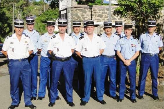 Des gendarmes satisfaits