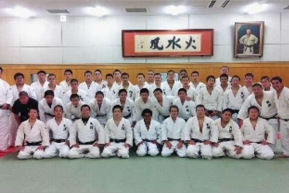 Escapade sur les tatamis japonais