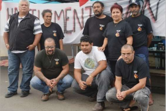 Grève express à la boulangerie Mwa pain