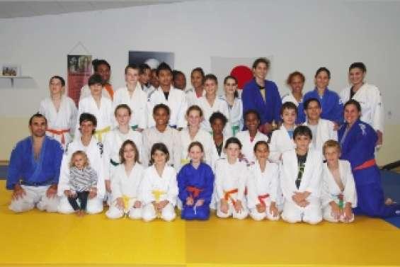 Les judokates au rendez-vous à Poé