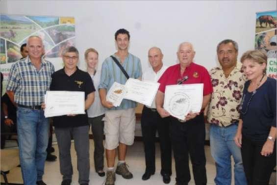 Trois lauréats au concours agricole