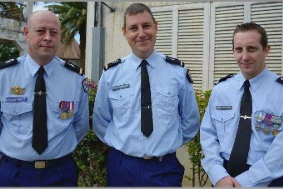 Trois nouveaux  à la brigade
