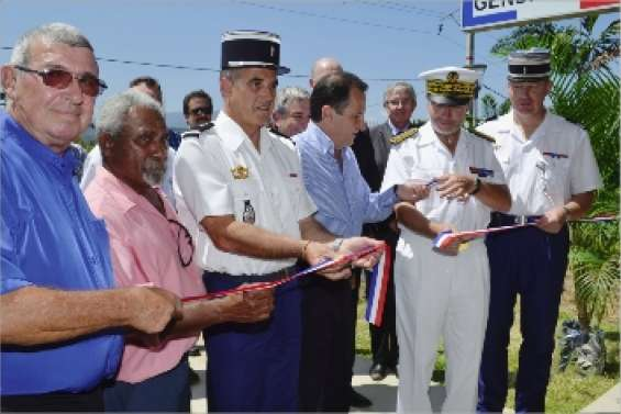 La gendarmerie enfin inaugurée