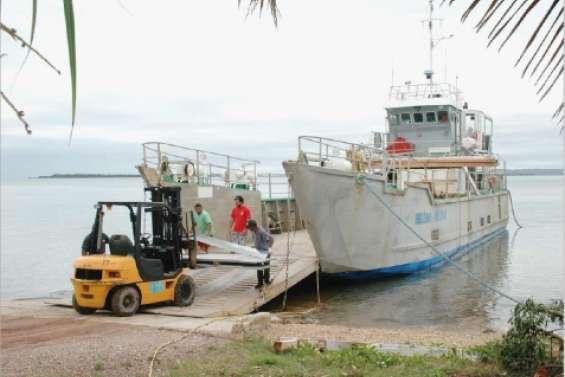 Le retour de la barge