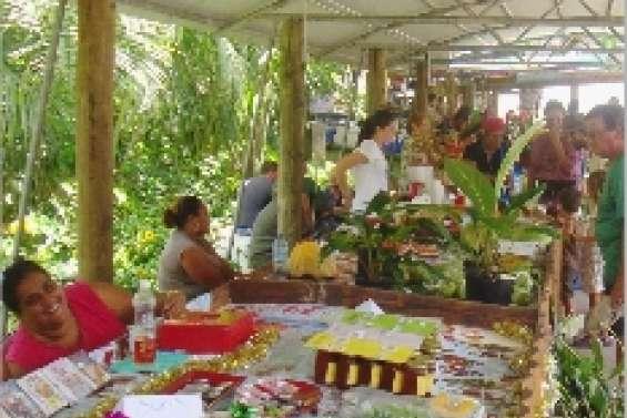 Un marché  pour les fêtes