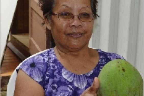 Une mangue de 1,630 kilo