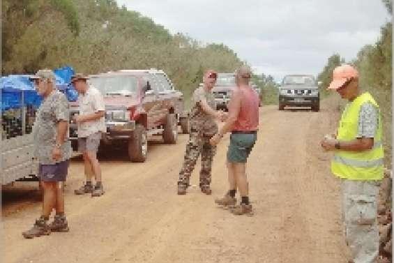 Pindaï sous le contrôle des chasseurs