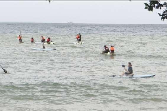 Un cours en paddle