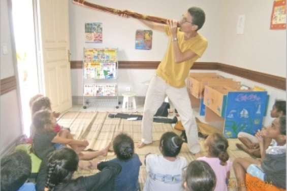 Contes au son du didgeridoo