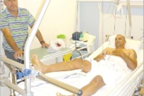 Eric Chimenti en convalescence