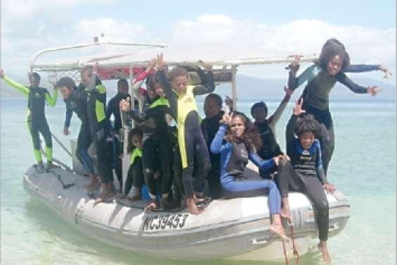 A la découverte de l'îlot Tibarama