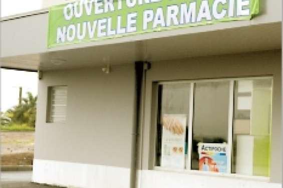 Une nouvelle pharmacie a ouvert