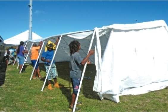 Les bénévoles déjà à pied d'œuvre pour le congrès du Palika