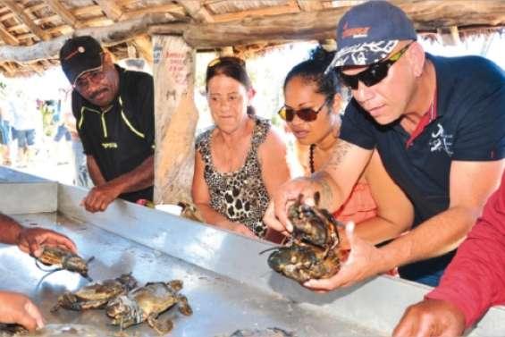 Les crabes bientôt à la fête