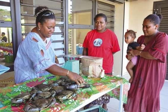 Le crabe en vedette au premier grand marché communal
