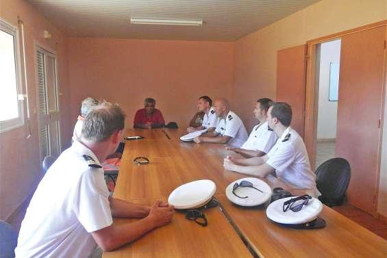 La gendarmerie et la SNSM sur le chemin coutumier
