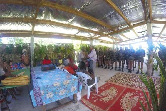 L'armée et Gossanah travaillent ensemble