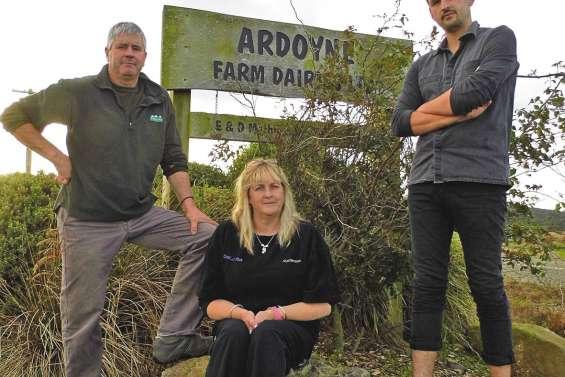 Les Mathieson, des agriculteurs face à la crise du lait