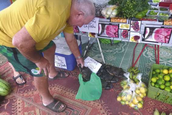 Un marché de Farino très savoureux