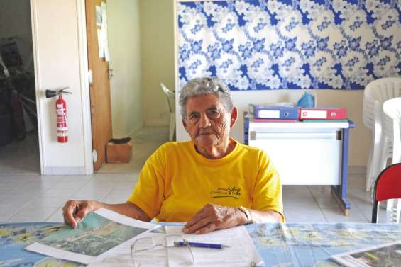 À 87 ans, Gladyne organise son dernier raid de Voh