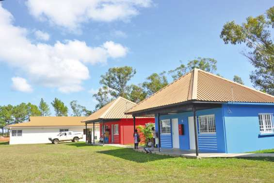 Le centre sportif de Kaala-Gomen est de nouveau opérationnel